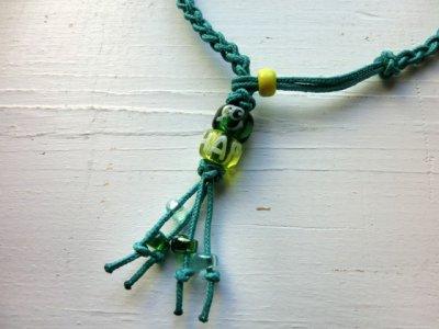 画像2: M&M / ダークグリーン×ルーサイトグリーン(水色系)