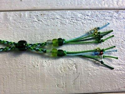 画像3: ライスボール / クリアグリーン ☆ グリーン×ルーサイトグリーン(水色系)×きみどり / ロング