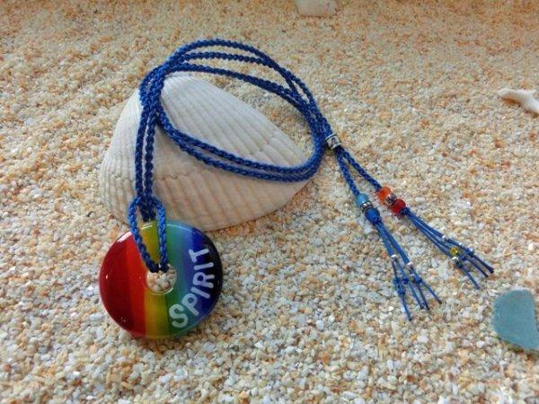 3.5 Rainbow|ネックレス(ブルーストラップ)